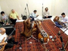 Jam session at Sanjannagar Studios, Lahore, April 2012
