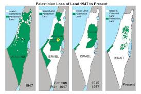 Disappearing Palestine 1947-present